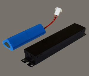 Split Design with Battery Pack and LED Driver